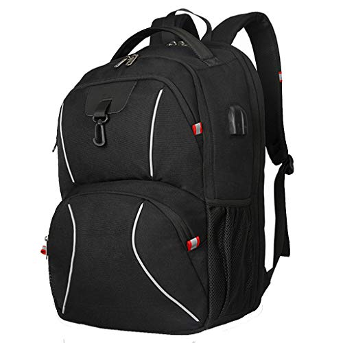 TOYS Laptop Backpack for Men, Anti-Theft Business Work Backpacks Bag with USB Port Headphone Jack Interface Laptop Notebook Gifts for Travel/Business/College