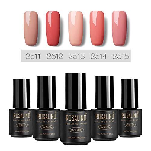 Flash Sale Gel Nagellack UV 7ml nackt rosa Farbe Gel Politur Absaugen Gel Lack Lack Nagel Art Vernis...