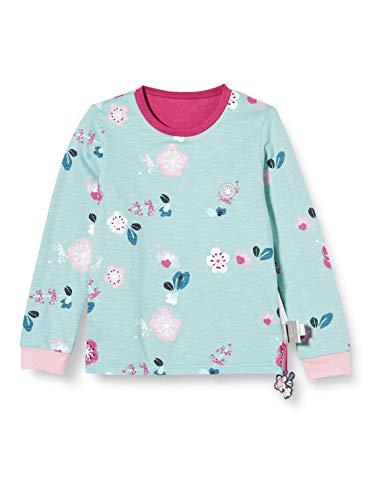 Sigikid Mädchen Mini Wendeshirt aus Bio-Baumwolle, Größe 098-128 Pullover, Pink/Blau, 128