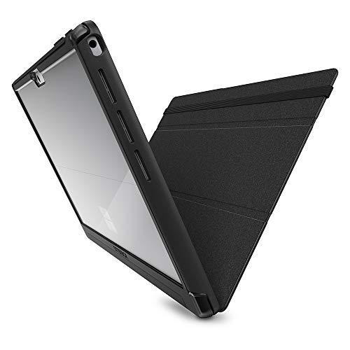 OtterBox Symmetry Folio sturzsichere Folio Schutzhülle für Microsoft Surface Pro 7 - Schwarz Pro Pack