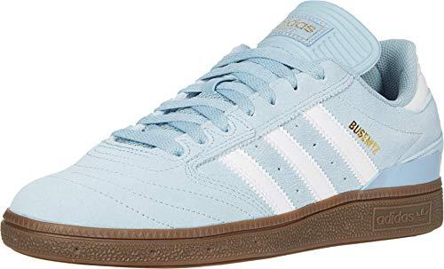 adidas Skateboarding Busenitz Ash Grey S18/Footwear White/Gum 4 10 D (M)