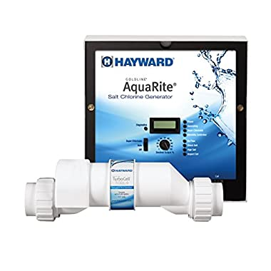 Hayward W3AQR9 AquaRite Electronic Salt Chlorination System for In-Ground Pools up to 25,000-Gallon (AQR9 Replaced by W3AQR9)