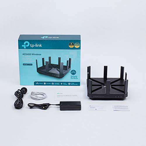 TP-Link AC5400 Wireless Wi-Fi Tri-Band Gigabit Router (Archer C5400)
