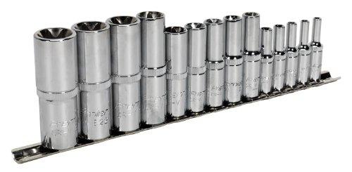 SEALEY ak6114 Trx-star Jeu de douilles 14 plugs femelle 1/10,2 cm profonde 3/20,3 cm & 1/5,1 cm SQ Disque E4-e24