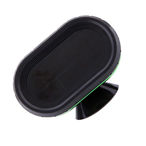 MagiDeal LCD Auto Digital Innen Außen Thermometer Spannungstester Spannungsmesser KFZ PKW Datum Uhr Alarm - Orange+Grün
