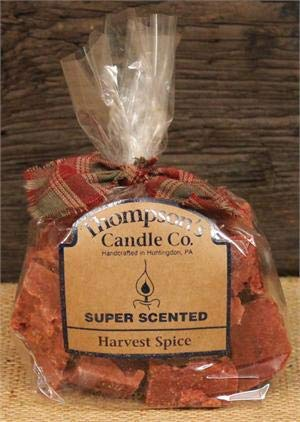 Thompson's Candle hvcr Super Scented Harvest Spice Wax Crumbles