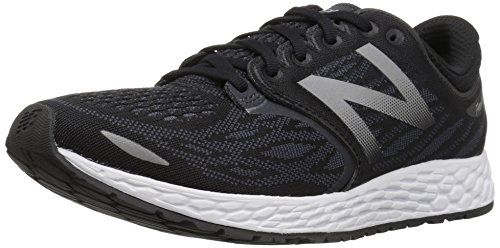 New Balance Men's Fresh Foam Zante V3 Running Shoe, Black/Thunder, 11 D US