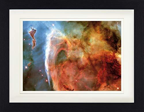 1art1 Der Weltraum - Schlüssellochnebel Im Sternbild Carina Gerahmtes Bild Mit Edlem Passepartout | Wand-Bilder | Kunstdruck Poster Im Bilderrahmen 40 x 30 cm