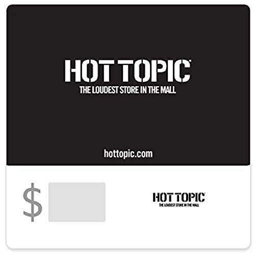 Hot Topic Gift Cards - E-mail Delivery - http://coolthings.us