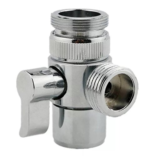 MissMin sink faucet diverter valve/adapter to bidet shower hose with aerator for bathroom/kitchen faucet
