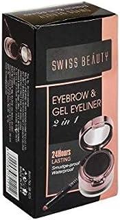 ClubComfort Swiss Beauty Eyebrow and Gel Eyeliner 7 g (black)