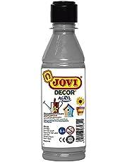 Jovi- PINTURA ACRILICA, Color plata (68037)