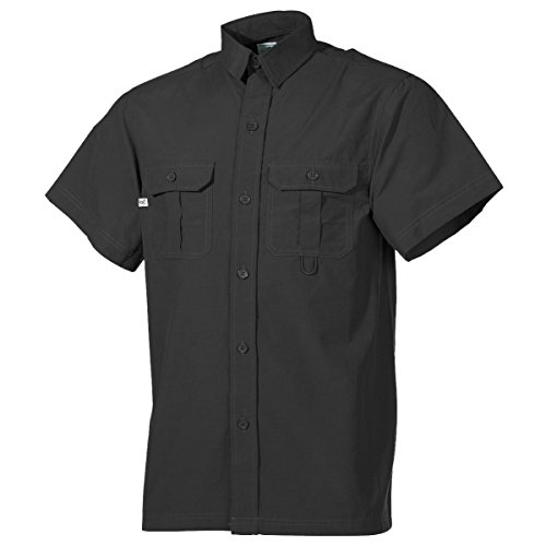 Chemise - manches courtes, noir
