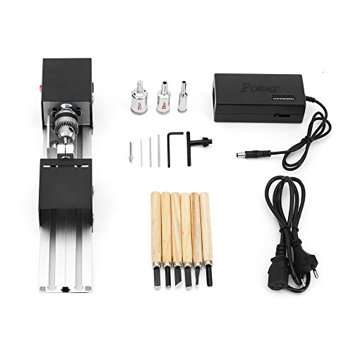 Why Should You Buy Upgraded Version Lathe Machine Wood Working Lathe with 24V Adapter