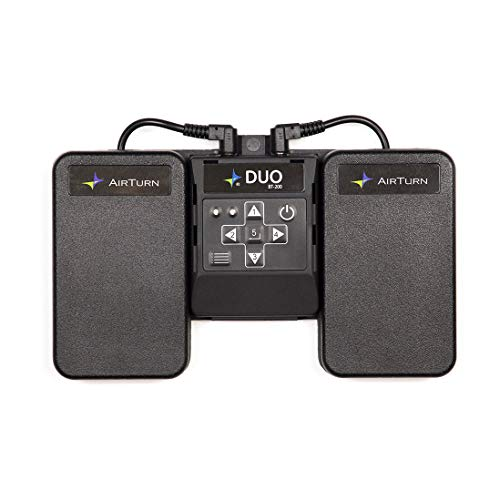 AirTurn Duo 200 Bluetooth Pedal Page Turner App Controller