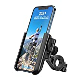visnfa Upgraded Bike Phone Mount Anti Shake and Stable 360° Rotation Adjustable Universal Bike Accessories/Bike Phone Holder for Any Smartphones GPS Other Devices Between 3.5 and 7.0 inches