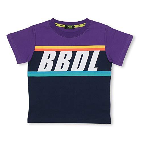 BABYDOLL(ベビードール)BBDL カラーラインTシャツ 3942K 120cm パープル