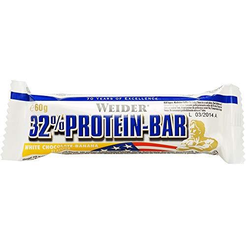 Weider 32% Protein Bar, Gusto Cioccolato Bianco-Banana - 1300 g