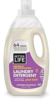 Better Life Natural Concentrated Laundry Detergent Lavender Grapefruit 64 loads