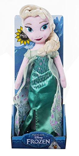 Disney Frozen (Die Eiskönigin) Plüschfigur ELSA, Mehrfarbig