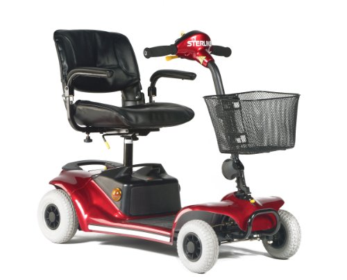 Sunrise Medical Sterling Pearl Class 2 Mobility Scooter - Blue 4MPH Car Boot by Sunrise Medical