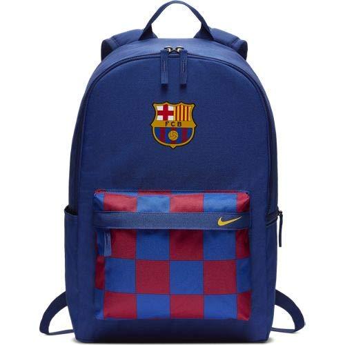 Nike BA5819 Sports Backpack, Unisex Adulto, Deep Royal Azul/Noble Rojo, Talla Única