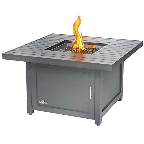 Napoleon Patio Flame Table Hamptons quadratisch Flametable Patioflame Flammentisch Feuertisch Feuerlounge Aluminium Alu