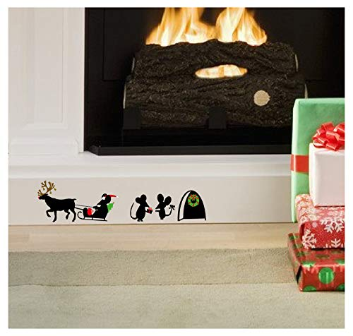 Epic Modz Christmas Mice Mouse Hole Removable Skirting...