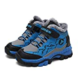 Best Kids Snow Boots - Shan-S Kids Boys Winter Snow Boots Non-Slip Hiking Review
