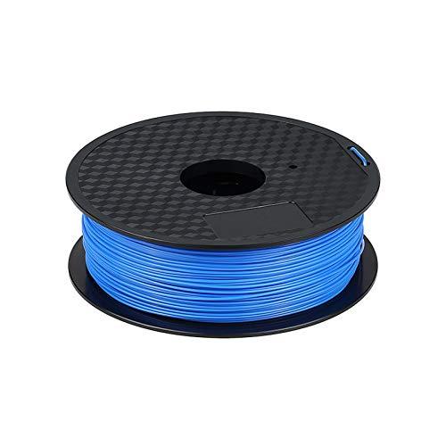 Filament D'Imprimante 3D Imprimante 3D Pla Filament 1.75Mm Filament Dimensionnel +/- 0.05Mm 1Kg Bleu 3D Matériau D'Impression En Plastique Pour