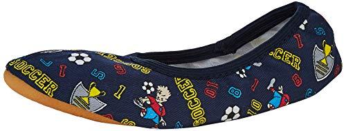 Beck Soccer, Zapatillas de Gimnasia para Niños, Azul, 27 EU