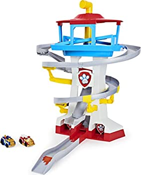 Paw Patrol True Metal Adventure Bay Rescue Way Toy Playset with 2 Exclusive Die-Cast Vehicles 1 55 Scale