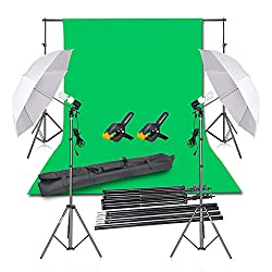 Green Backdrop Ideal for Product and Portrait Shooting