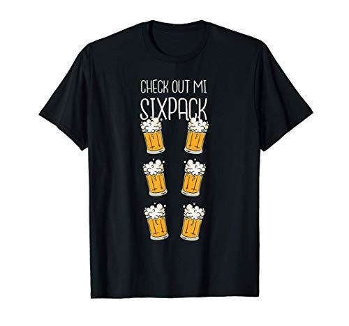 Beba el paquete de seis cervezas Camiseta