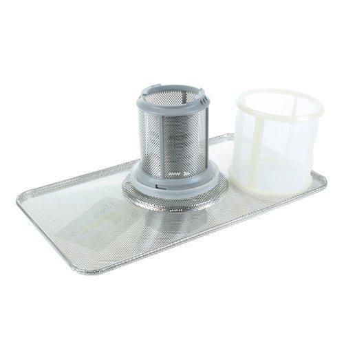 Lavastoviglie Bosch filtro completo di sostituzione Set (Include Grille Piatto, filtro e Mesh)