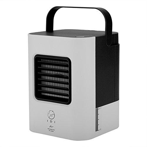 Tnfeeon Airconditioner voor slaapkamer, mobiele airconditioner, luchtkoeler, ventilator, luchtbevochtiger, luchtreiniger, ventilator, kantoor met 3 instelbare windsnelheden