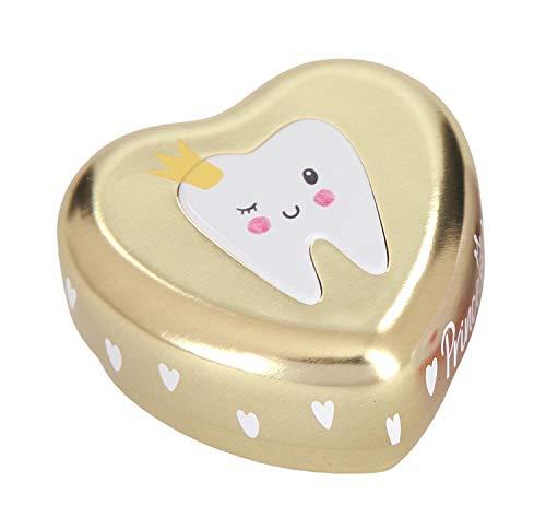 Depesche 8569 Princess Mimi, Caja de dientes de leche, Modelos surtidos, 4,8 x 4,9 x 2,6 cm