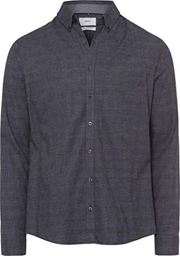 BRAX Heren Style flanel hemd vrijetijdshemd