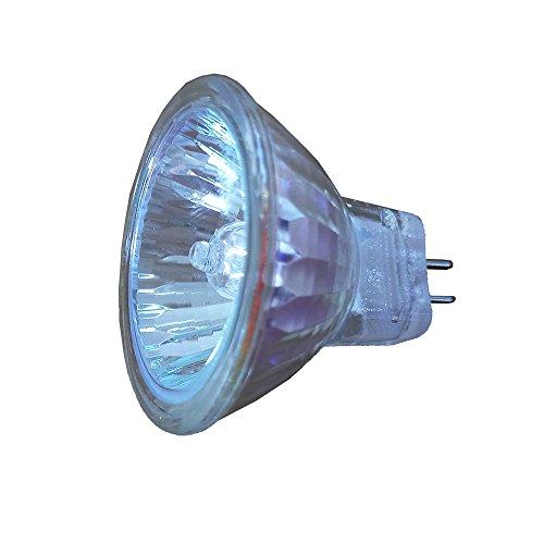 2 x Bombilla de lámpara halógena MR11 12V 10W GU4 35mm Blanco cálido Regulable Proyector halógeno Cubierta de vidrio