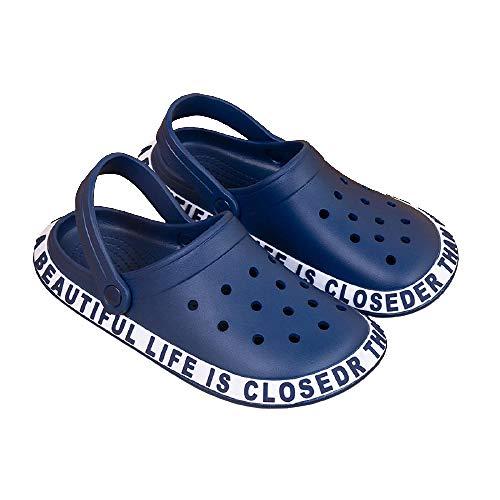 XZDNYDHGX Zapatos De Playa BañO Pantufla De Los Hombres Slide,Zapatillas de casa Casuales para Hombres y Mujeres, par de Zapatos de jardín, Sandalias de Playa, Mulas, baño, Rosa, EU 36-37