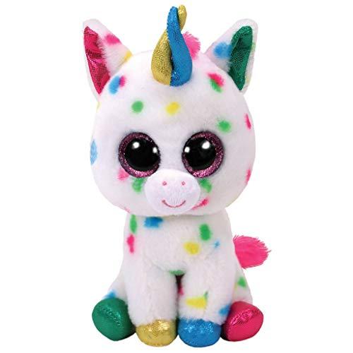 TY Harmonie Peluche unicornio, color multicolor, blanco (United Labels Ibérica 37266TY) , color/modelo surtido