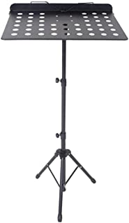 Professional guitar, drum, zither, violin, music stand, portable home folding stand, bookshelf, music stand, black 57 inch extension-type