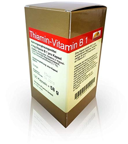 THIAMIN KAPSELN-VITAMIN B1, 120 St