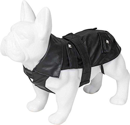 Karl Lagerfeld Haustiere Hunde Regenjacke, Winterjacke Für Winter Herbst Frühling, Farbe: Schwarz, Größe: 60