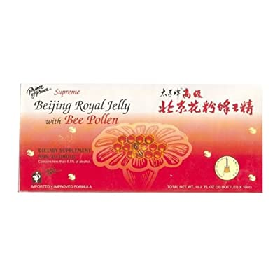 Prince of Peace Supreme Beijing Royal Jelly with Bee Pollen, 30 Count