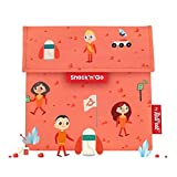 Roll'eat - Snack'n'Go Kids - Bolsa Merienda Porta Sandwich Ecológica y...