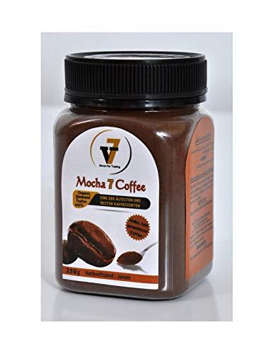 Mocha 7 Coffee 100% Arabica 100% Organic Yemeni Coffee Jemenitischer Kaffee Harazi Milder dunkler Heller fein gemahlener Kaffee (heller fein)