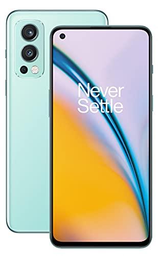 OnePlus Nord 2 5G con 8GB RAM y 128GB de memoria con Cámara triple y 65W Warp Charge - 2 años de garantía - Blue Haze
