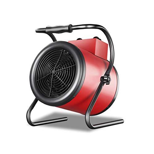 SHENXINCI Calentador de Aire Portátil Industrial Especial, Calefacción De Cerámica, Termostato Autónomo, Secador Portátil, 3000w/5000w/9000w, Rojo.