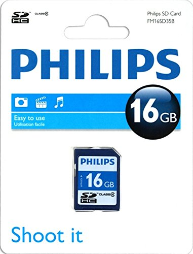 Philips SD-kaart Class 4 16 GB, SDHC